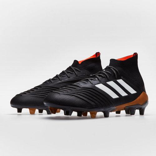 a6bada27230 adidas Predator 18.1 FG Football Boots. Core Black White Solar Red