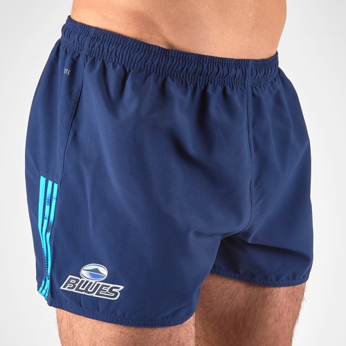 Blues 2018 Home Super Rugby Players Rugby Shorts