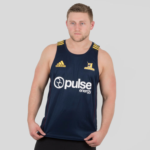 Highlanders 2018 Players Super Rugby Training Singlet