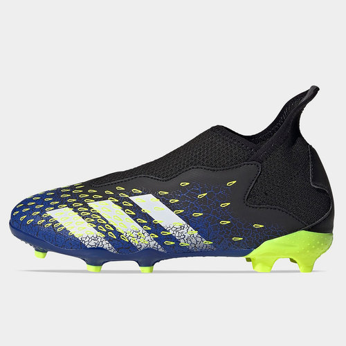 Predator Freak .3 Laceless Childrens FG Football Boots