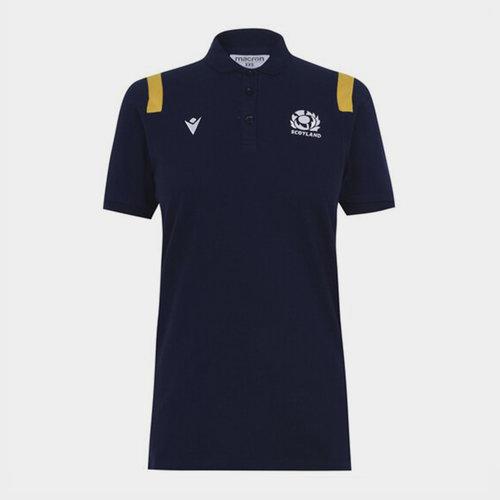 Scotland Polo Shirt Ladies