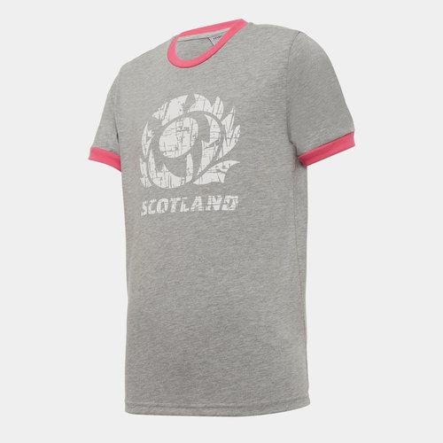 Scotland Poly T Shirt Junior Boys