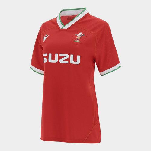 Wales Home Shirt 2020 2021 Ladies