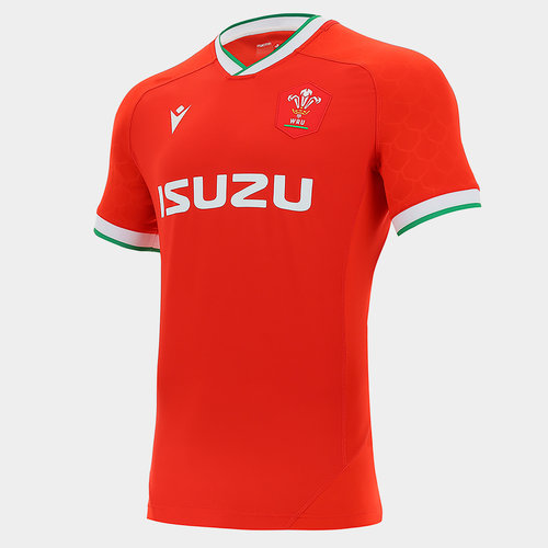 Wales Home Authentic Shirt 2020 2021