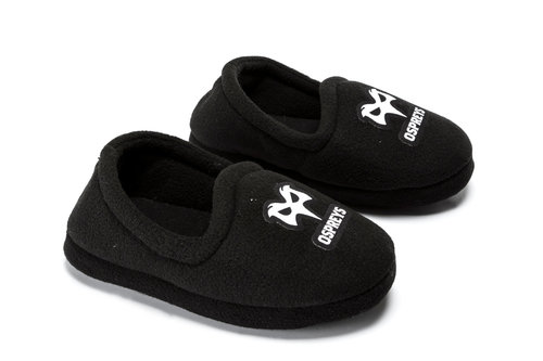 Ospreys Rugby Kids Slippers