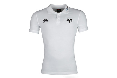 Ospreys 2017/19 Players Rugby Training Polo Shirt