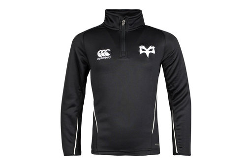 Ospreys 1/4 Zip Kids Rugby Mid Layer