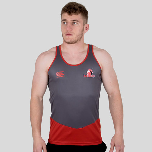 Lions 2018 Players Rugby Training Singlet