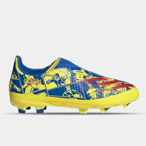 Marvel X Ghosted .3 Laceless Junior FG Football Boots