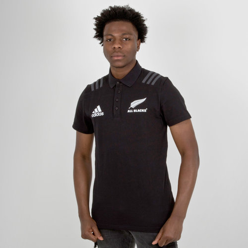 New Zealand All Blacks 2018 Rugby Polo Shirt