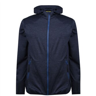 Vapodri Full Zip Hooded Rugby Sweat