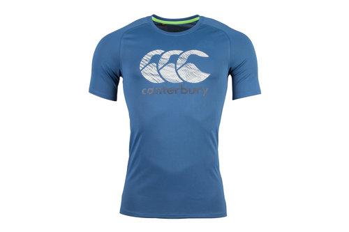Vapodri Poly Large Logo T-Shirt