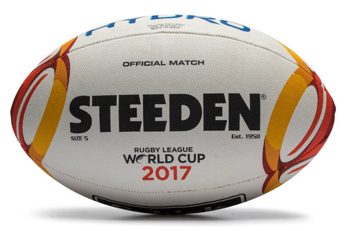 Rugby League 2017 World Cup Replica Rugby Ball