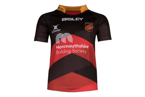 Dragons 2017/18 Kids Home S/S Replica Rugby Shirt