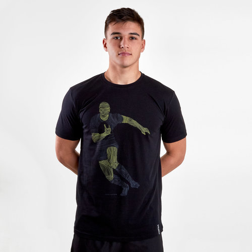 Sketch Graphic Rugby T-Shirt