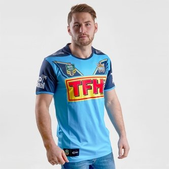 Gold Coast Titans 2018 NRL Home S/S Rugby Shirt
