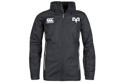 Ospreys 2017/19 Kids Full Zip Rain Rugby Jacket