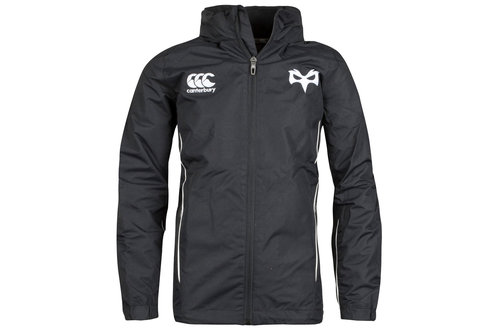 Ospreys 2017/19 Youth Full Zip Rain Rugby Jacket