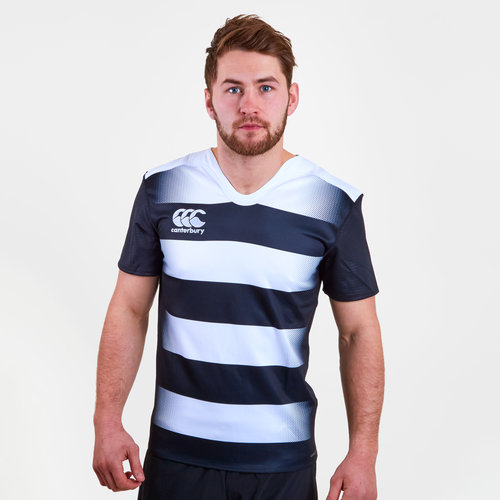 Challenge Hooped S/S Rugby Shirt