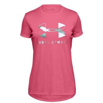 Big Logo Short Sleeve T Shirt Junior Girls