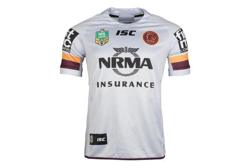 Brisbane Broncos NRL 2018 Alternate S/S Rugby Shirt