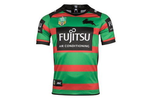 South Sydney Rabbitohs NRL 2018 Home S/S Rugby Shirt