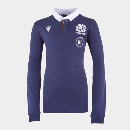 Scotland Home Classic Rugby Shirt 2020 2021 Junior