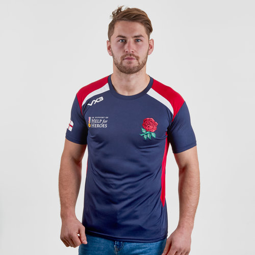 Help for Heroes England 2018/19 Rugby T-Shirt