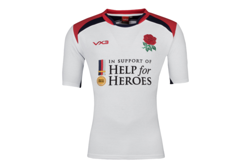 Help for Heroes England 2018/19 S/S Rugby Shirt
