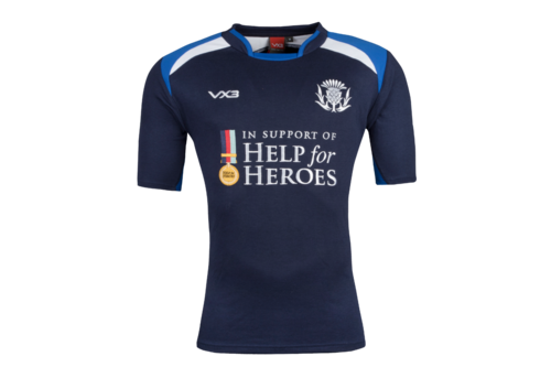 Help for Heroes Scotland 2018/19 S/S Rugby Shirt