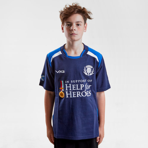 Help for Heroes Scotland 2018/19 Kids S/S Rugby Shirt