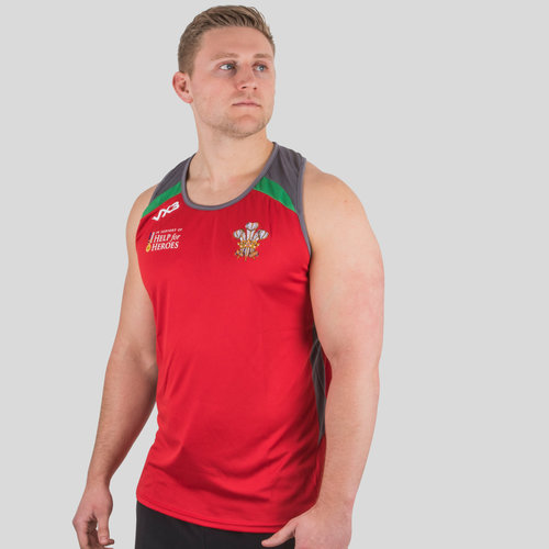 Help for Heroes Wales 2018/19 Rugby Vest