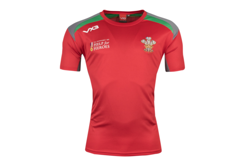Help for Heroes Wales 2018/19 Rugby T-Shirt