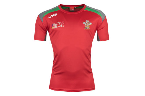 Help for Heroes Wales 2018/19 Kids Rugby T-Shirt