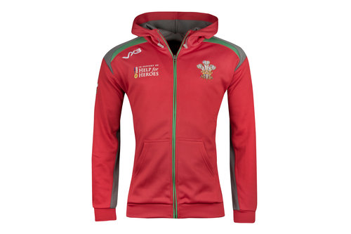 Help for Heroes Wales 2018/19 Kids Hooded Rugby Sweat