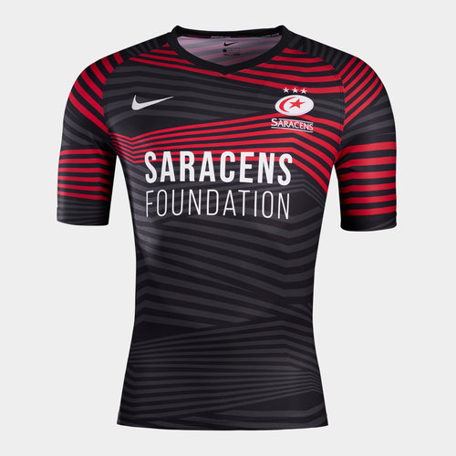Saracens Home Jersey Mens