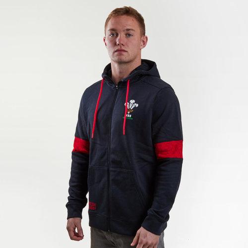 Wales WRU 2017/18 Players Full Zip Rugby Jacket