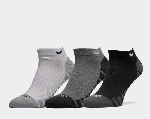 Dry Lightweight No-Show Training Socks 3 Pairs