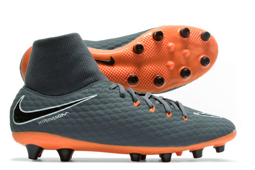 Hypervenom Phantom III Academy D-Fit AG Pro Football Boots