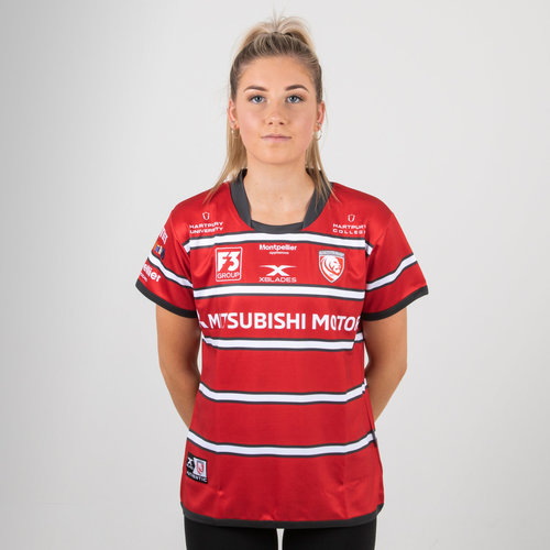 Gloucester 2018/19 Ladies Home S/S Replica Rugby Shirt