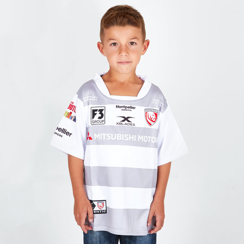 Gloucester 2018/19 Alternate Kids S/S Replica Rugby Shirt