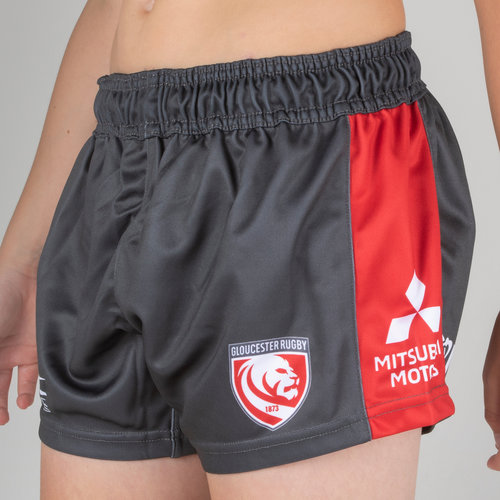 Gloucester 2018/19 Youth Home Rugby Shorts