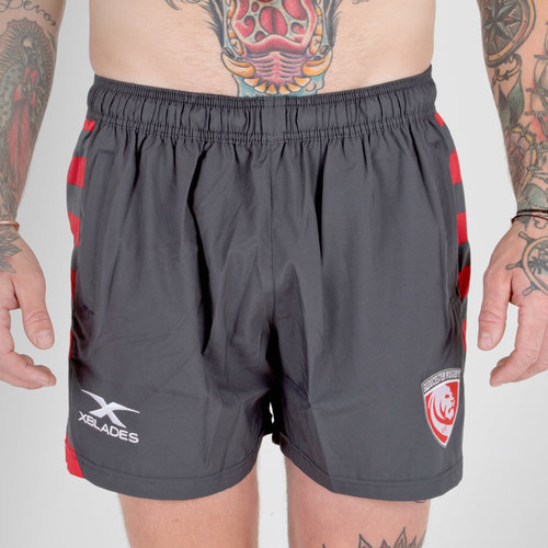 Gloucester 2018/19 Players Rugby Training Shorts