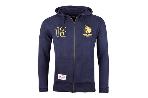 Great Britain Rugby League Heritage Full Zip Hooded Sweat