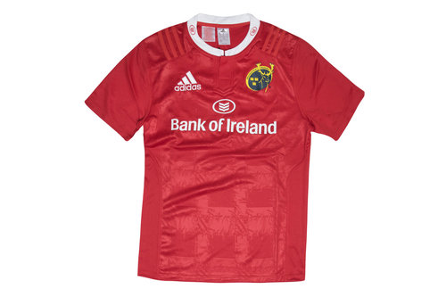 Munster 2015/16 Home Youth S/S Replica Rugby Shirt