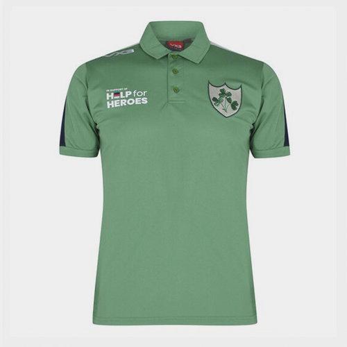 Help 4 Heroes Ireland Polo Shirt Mens