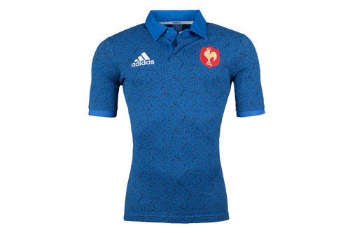 France 2018 Supporters S/S Rugby Shirt