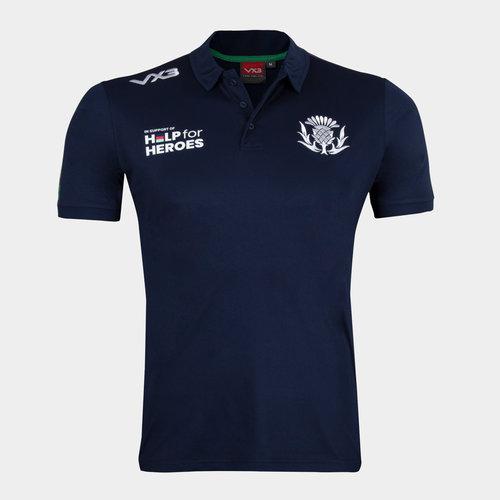 Help 4 Heroes Scotland Polo Shirt Mens