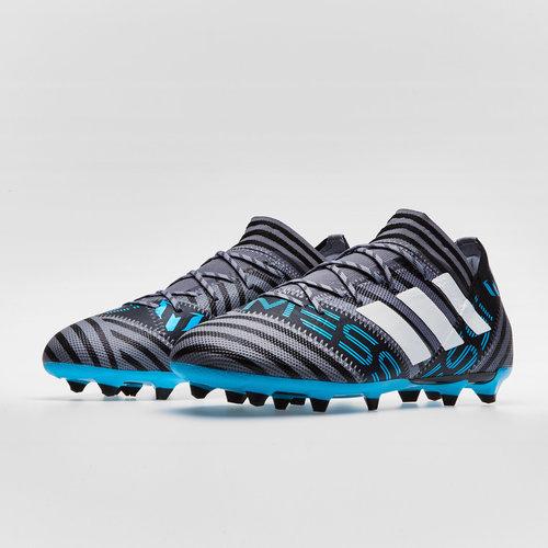 78b2fe470 adidas Nemeziz Messi 17.2 FG Football Boots. Grey/White/Core Black