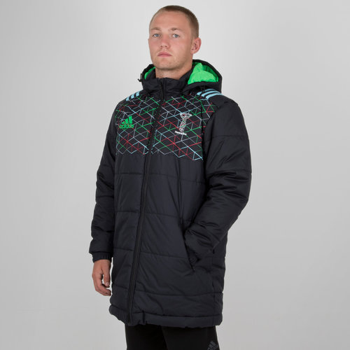 Harlequins 2018 Players Stadium Rugby Jacket